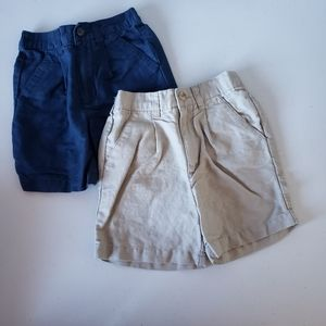 Bundle of 2 baby boys uniform shorts